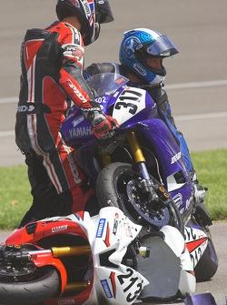 David Anthony and Mike Shreve unlock their Yamahas