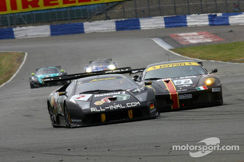 #7 All-Inkl.com Racing Lamborghini Murciélago: Marc Basseng, Stefan Mücke
