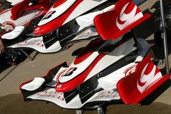 Super Aguri F1 Team, front wings