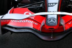 McLaren Mercedes, front wing