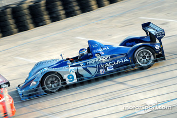 #9 Highcroft Racing Acura ARX-01a Acura: David Brabham, Stefan Johansson, Duncan Dayton