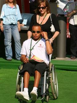 Nicholas Hamilton, Brother of Lewis Hamilton McLaren Mercedes