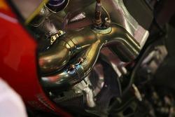 Scuderia Ferrari, F2007, exhaust detail