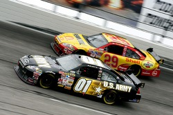 Mark Martin and Kevin Harvick