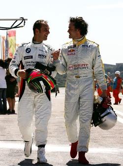 Michel Jourdain, Jr., SEAT Sport, SEAT Leon, Jorg Muller, BMW Team Germany, BMW 320si WTCC