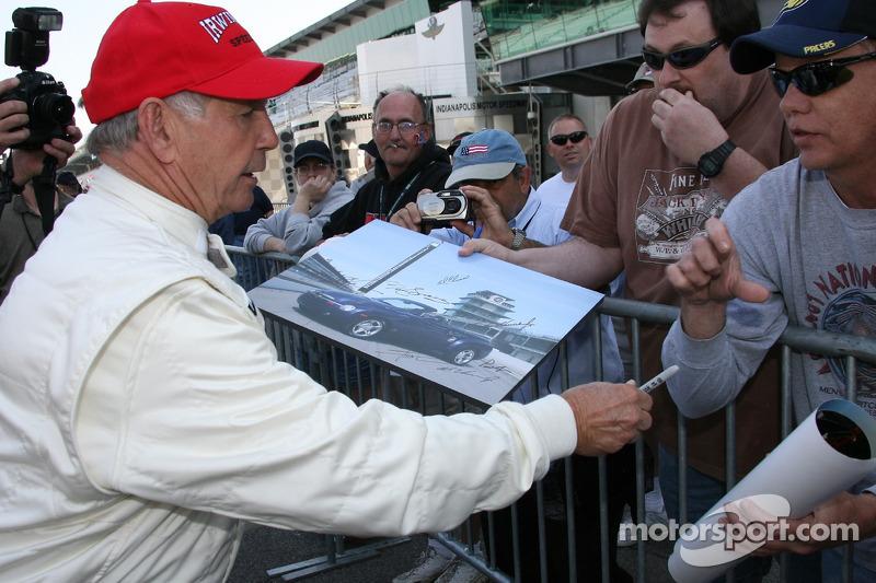Honorary starter 1963 Indianapolis 500 winner Parnelli Jones