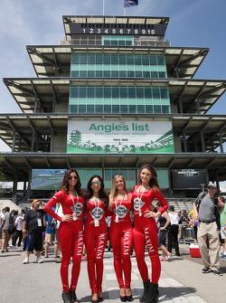 Lovely promo girls