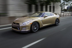 The 2016 Nissan GT-R 45th anniversary gold edition