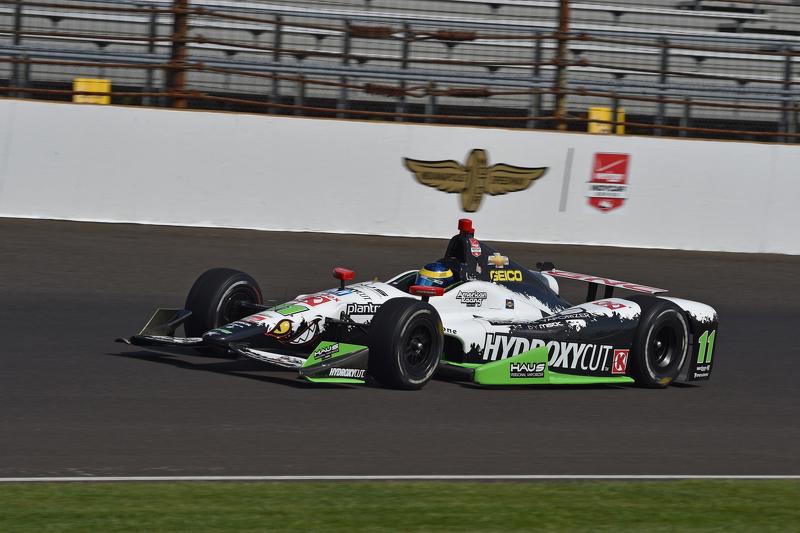 Sebastien Bourdais, KVSH Racing at Indy 500