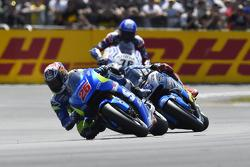 Maverick Viñales, Team Suzuki MotoGP and Scott Redding, Marc VDS Racing Honda