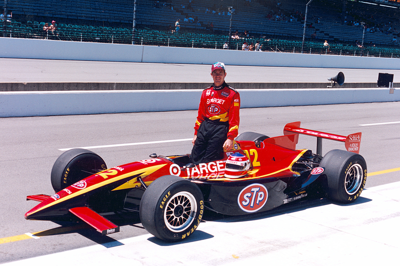 Jimmy Vasser at Indy 500