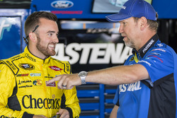 Austin Dillon, Richard Childress Racing Chevrolet with Mike Kelley