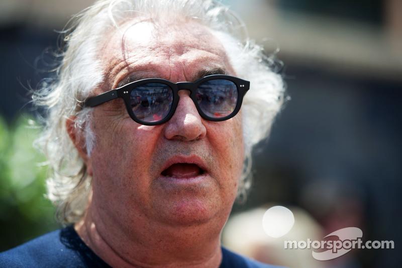Flavio Briatore at Monaco GP
