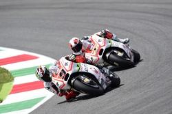 Danilo Petrucci e Yonny Hernandez, Pramac Racing Ducatis