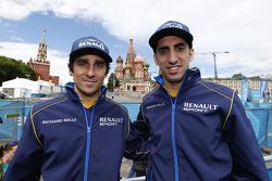 Nicolas Prost and Sébastien Buemi, e.dams-Renault Formula E Team