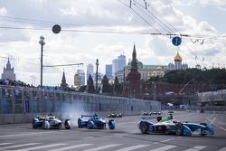 Jarno Trulli, Trulli and Antonio Felix da Costa, Amlin Aguri and Justin Wilson, Andretti Autosport