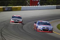 Austin Dillon and Ryan Newman, Richard Childress Racing Chevrolets