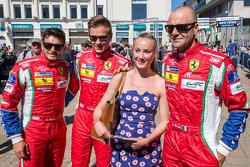 Fan with #51 AF Corse Ferrari 458 GTE: Gianmaria Bruni, Toni Vilander, Giancarlo Fisichella