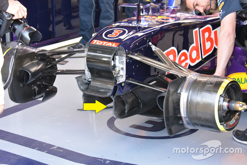 Red Bull Racing RB11 detail
