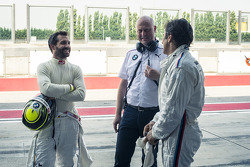 Alex Zanardi and Timo Glock, ROAL Motorsport