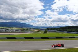 Esteban Gutierrez, Ferrari SF15-T Test and Reserve Driver