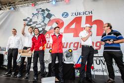 Phoenix Racing Audi R8 LMS: Christopher Haase, René Rast, Markus Winkelhock, Christian Mamerow, Frank Stippler
