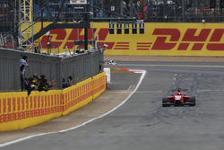 Kevin Ceccon, Arden International takes the chequered flag