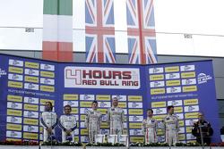 LMP3 podium: race winners Chris Hoy, Charlie Robertson