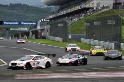 Race action at Fuji