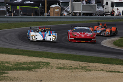 #8 Starworks Motorsport ORECA FLM09: Renger van der Zande, Mirco Schultis and #63 Scuderia Corsa Ferrari 458 Italia: Bill Sweedler, Townsend Bell