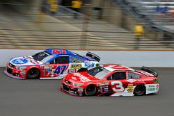 A.J. Allmendinger, JTG Daugherty Racing Chevrolet and Austin Dillon, Richard Childress Racing Chevrolet