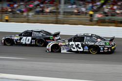 Landon Cassill, Hillman Circle Sport LLC Chevrolet and Brian Scott, Chevrolet