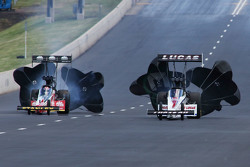 Doug Kalitta and Richie Crampton