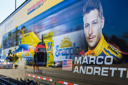 Marco Andretti, Andretti Autosport Honda hauler