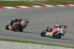 Michael van der Mark, Pata Honda and Leon Haslam, Aprilia Racing Team