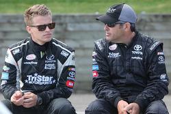 Blake Koch, TriStar Motorsports Toyota and Jeff Green, TriStar Motorsports Toyota