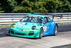 飞劲轮胎车队保时捷911 GT3 R:马丁·拉金杰、亚历山大·英佩拉托瑞