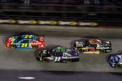 Jeff Gordon, Hendrick Motorsports Chevrolet, Denny Hamlin, Joe Gibbs Racing Toyota, Ryan Newman, Richard Childress Racing Chevrolet