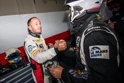 GTC polesitter Franck Perera celebrates with his team
