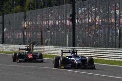 Mitch Evans, RUSSIAN TIME leads Stoffel Vandoorne, ART Grand Prix