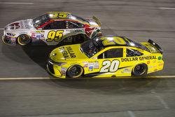 Michael McDowell and Matt Kenseth, Joe Gibbs Racing Toyota