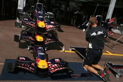 Red Bull Racing, setup
