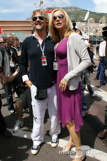 Veronica Ferres, Actress and Martin Krug