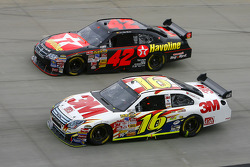 Greg Biffle and Juan Pablo Montoya