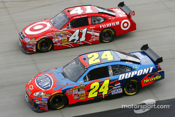Jeff Gordon and Reed Sorenson