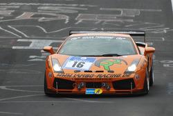 #16 Lambo-Racing Lamborghini Gallardo GTR: Stephan Rösler, Andreas Kitzerow, Florian Scholze, Georg Silbermayr