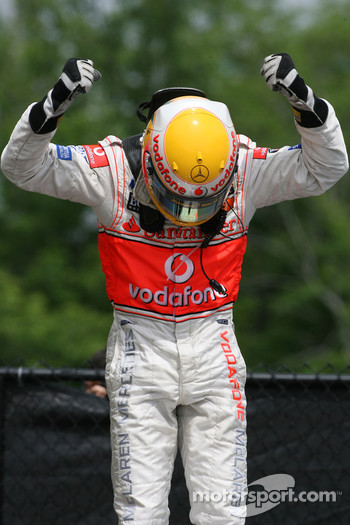 Winner, 1st, Lewis Hamilton, McLaren Mercedes, MP4-22