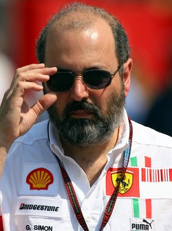 Gilles Simon, Head of the Engine Department, Ferrari