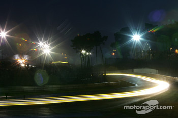 Wild lights at Le Mans