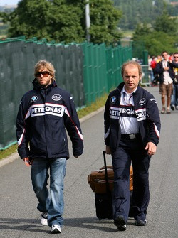 Nick Heidfeld, BMW Sauber F1 Team, Joseph Leberer